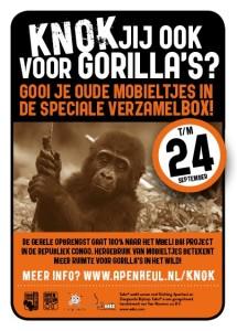Knokken voor Gorilla's
